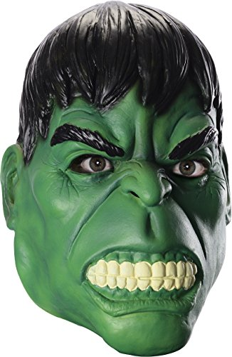 (Rubie's Men's Marvel Universe Adult Hulk Mask, Multi, One Size)