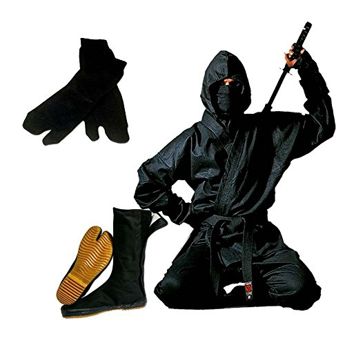 Authentic Full Ninja Uniform Set - 6 -