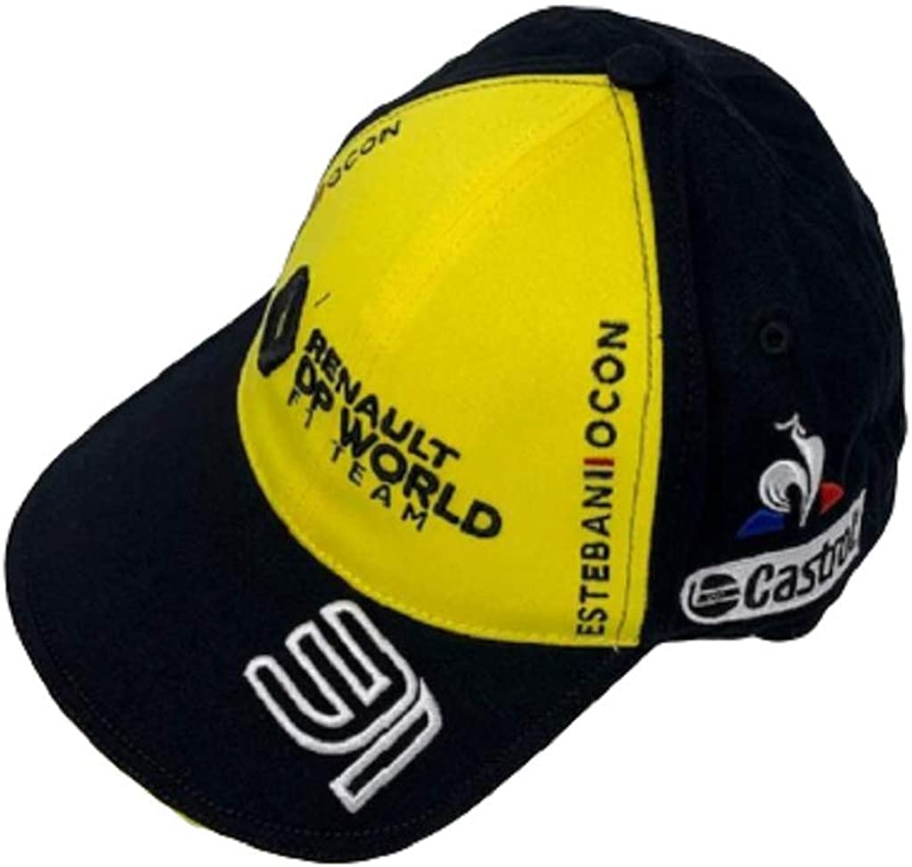 Renault Casquette OCON 31 F1 Racing Officiel Formule 1