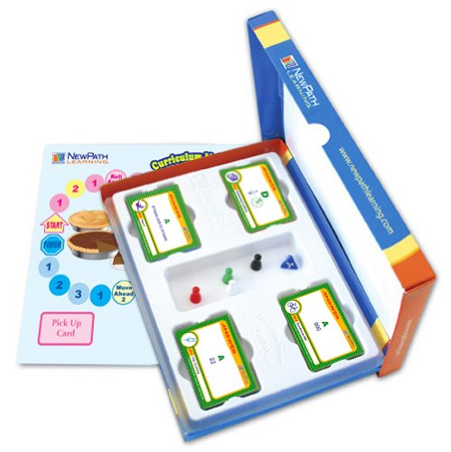 NewPath Learning Math Facts Curriculum Mastery Game, Grade 2-5, Study-Group Pack