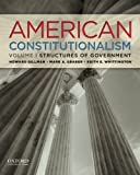 img - for American Constitutionalism: Volume I: Structures of Government book / textbook / text book