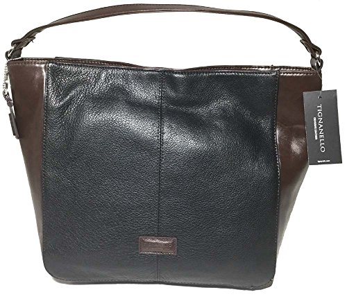 Tignanello Western Hobo Black/Brown T58310A (Genuine Leather Tignanello)