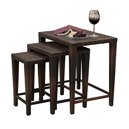 Exceptionnel Best Selling 3 Wicker Nesting Tables