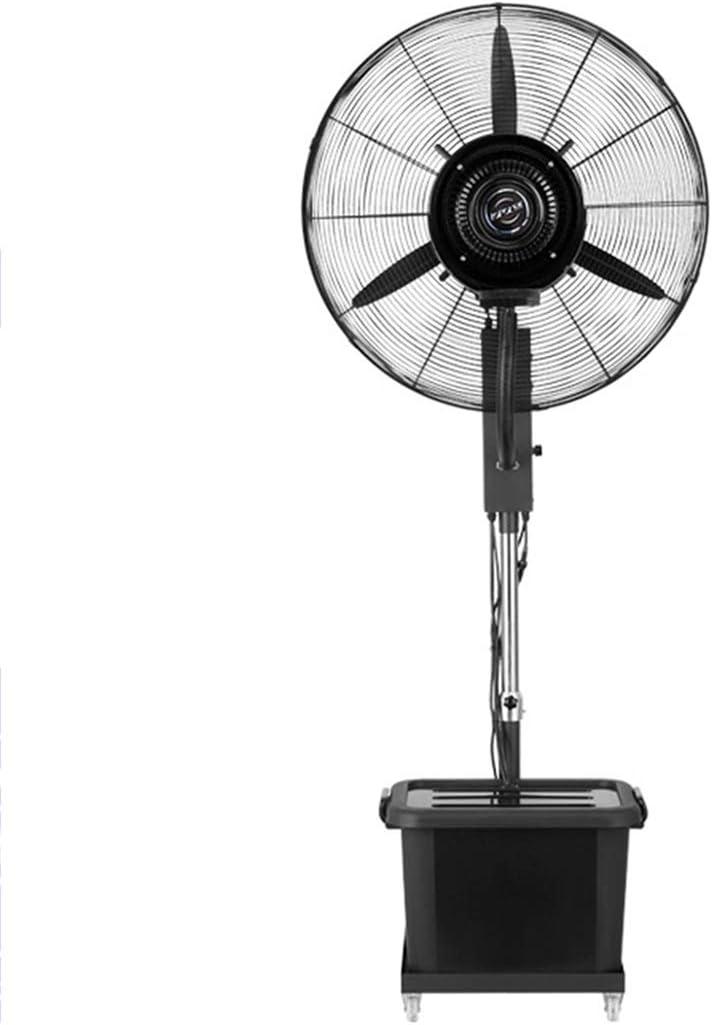 YZJJ Ventilador nebulizador, Ventilador oscilante de pie, Tanque ...