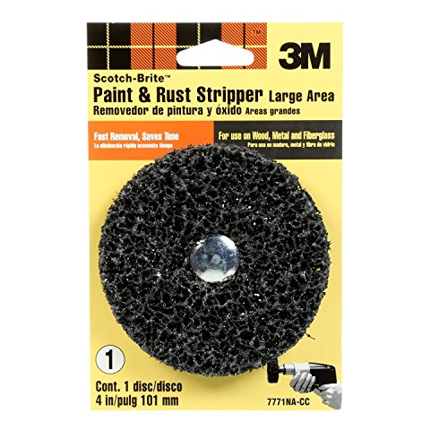 3M Paint and Rust Stripper Brush - 7771 (Best Metal Rust Paint)