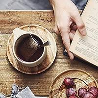 ZTTCJ Tazas de café Vintage de cerámica - Juego de Retro ...