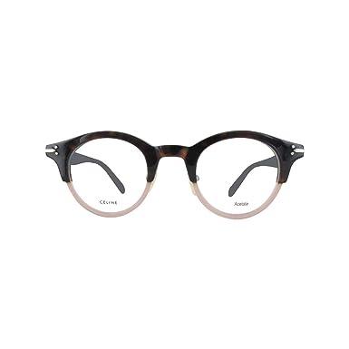 a8dac0018e8 Amazon.com  Celine CL41421 T7B25 Dark Havana Brown Eyeglasses  Clothing