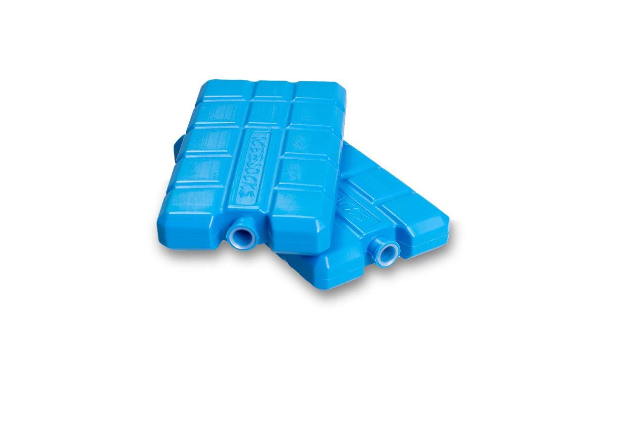2 x 200ml K/ühlakkus f/ür K/ühltasche K/ühlbox K/ühlelemente flach Made IN EU 2er Set KRONWARE Premium Smilie K/ühlakkus
