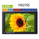 FEELWORLD FW279S 7 Inch 2200nit Daylight Viewable 3G-SDI 4K HDMI Input Output 1920X1200 Camera Field Monitor for Stabilizer Canon Nikon Panasonic DSLR and Mirrorless on Camera Monitor