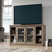 Sauder 416488 TV Stands, Furniture Barrister Lane Entertainment Credenza, Salt Oak