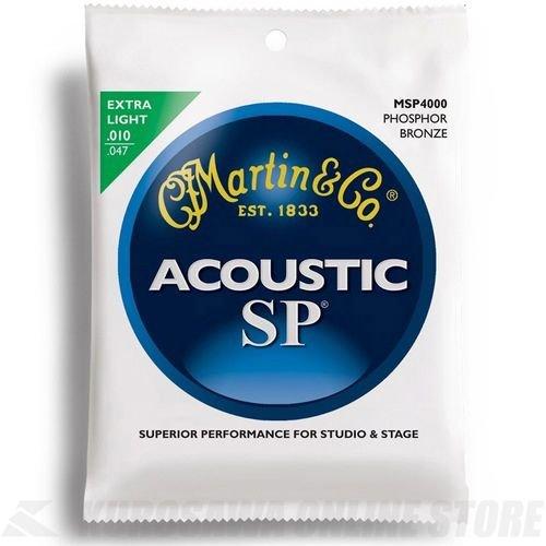 Martin MSP4000 SP Phosphor Bronze Acoustic Guitar Strings, E