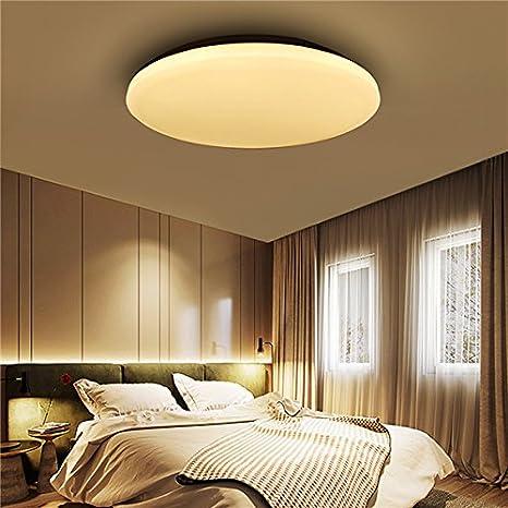 12 W 1000LM LED Flush Mount luz de techo redondo ultrafino Fixture ...