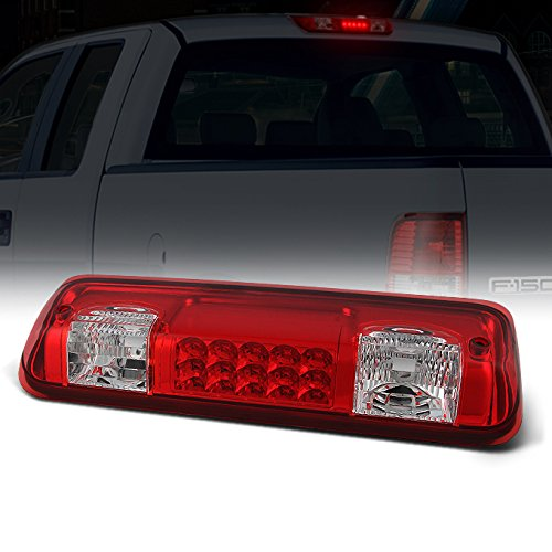 For Ford F150 Explorer Sport Trac LED Replacement 3rd Brake Tail Light Lamp Red Cargo Lamp