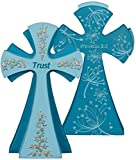 Angelstar 73155 Trust Gem Series Jewels of Faith Cross Figurine by Angelstar