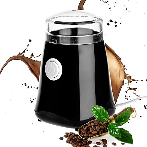 MEJOY Electric Grinder for Coffee Bean Multifunction Coffee Bean Muller with Stainless Steel Blade