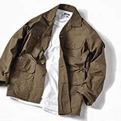 Safari Shirt Jacket 111-11-4027: Olive