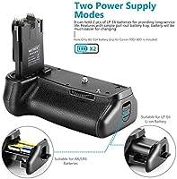 Neewer Soporte para Batería (Reemplazo para BG-E14), Trabaje con ...