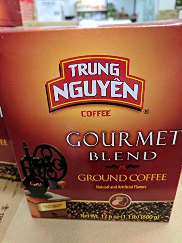 Trung Nguyen Gourmet Blend Ground Coffee 17.6 Oz (20 Pack) by Trung Nguyen