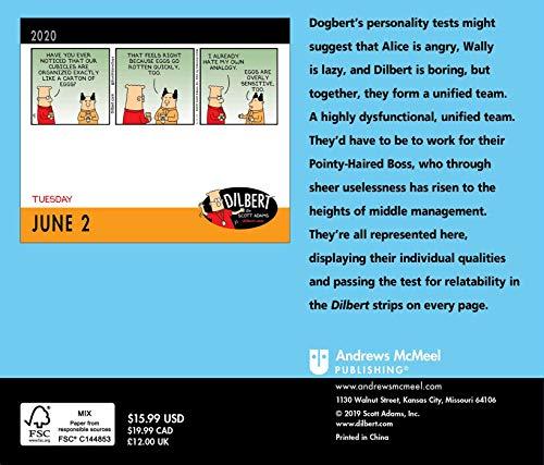 Dilbert 2020 Day-to-Day Calendar
