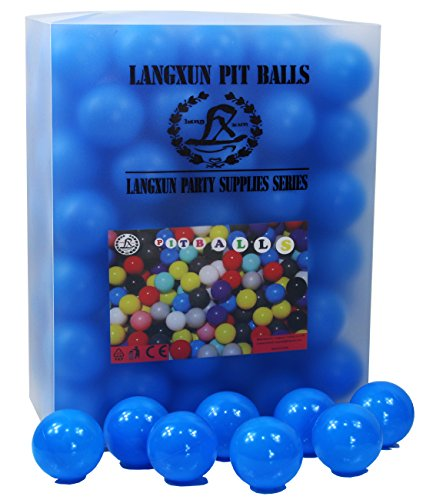 Langxun 200Pcs Blue Pit Balls