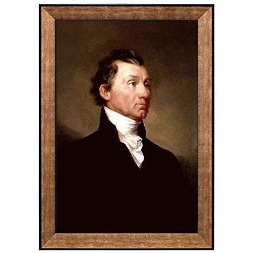 Portrait of James Monroe by Samuel Morse (5th President of the United States) American Presidents Series Framed Art Print