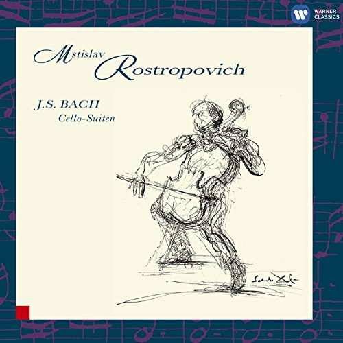 Rostropovich Cello (Bach: Cello Suites)