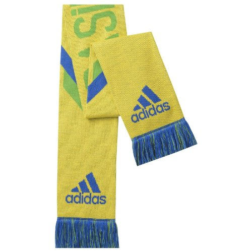 adidas Brazil Scarf [Yellow] (OS)