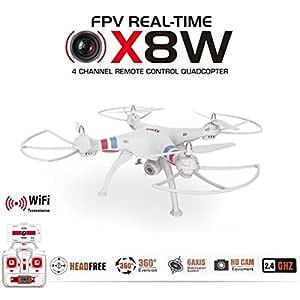 Trendy de Planets - ® Syma x8 W Real Time FPV dron cuadricóptero ...