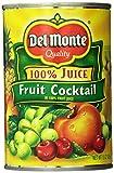 Del Monte Fruit Cocktail Cans, 15 oz, 6 Count