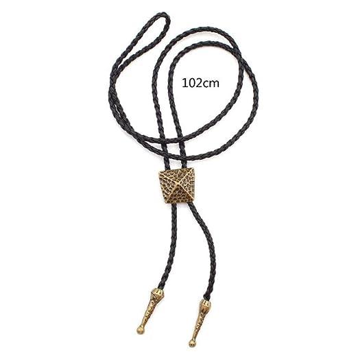 MXH Bolo Tie Comercio Exterior Camisa Retro Cadena Collar Cuerda ...
