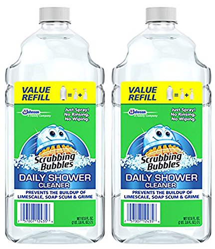 Method Cleaner Shower Daily (Scrubbing Bubbles Daily Shower Cleaner, 67.7 Fluid Ounce (Pack of 2))