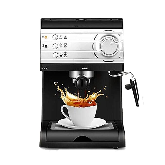 Máquina de café espresso semiautomática a vapor de alta presión ...