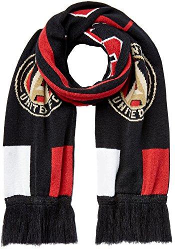 MLS Atlanta United R S8FDV Youth Boys Fringe Scarf, One Size (8), Victory Red (Tassels Atlanta)