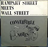 CONVERTIBLE NOTE JAZZ BAND RAMPART ST MEETS WALL STREET vinyl record