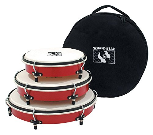 Latin Percussion WB505 Hand Drum Red