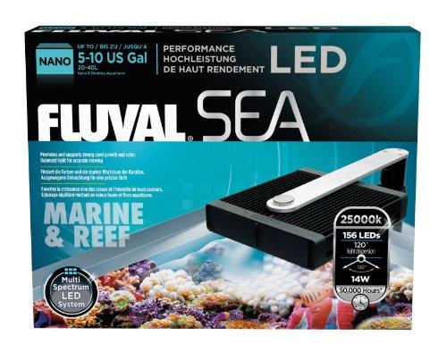Fluval Sea Nano Marine and Reef Performance LED Lamp Daily ...