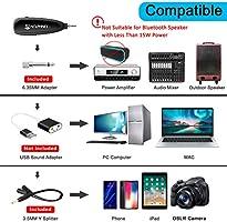 Micrófono inalámbrico de fitness KIMAFUN 2.4 G inalámbrico ...