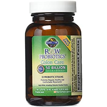 Garden of life raw probiotics colon care 33 probiotic strains 30 vegetarian for Garden of life raw probiotics ultimate care