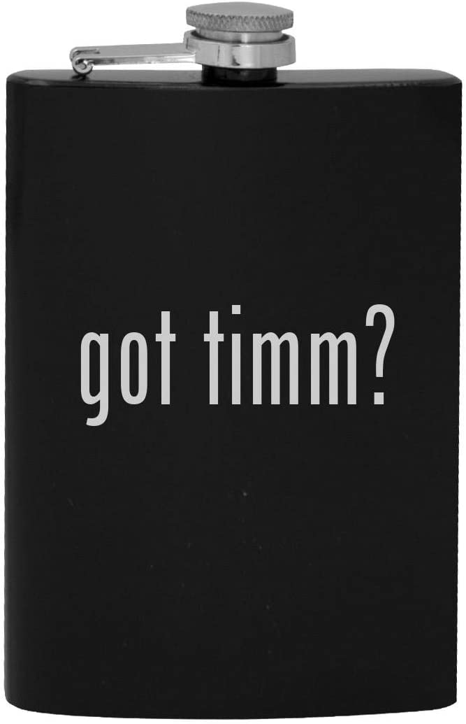 got timm? - 8oz Hip Drinking Alcohol Flask