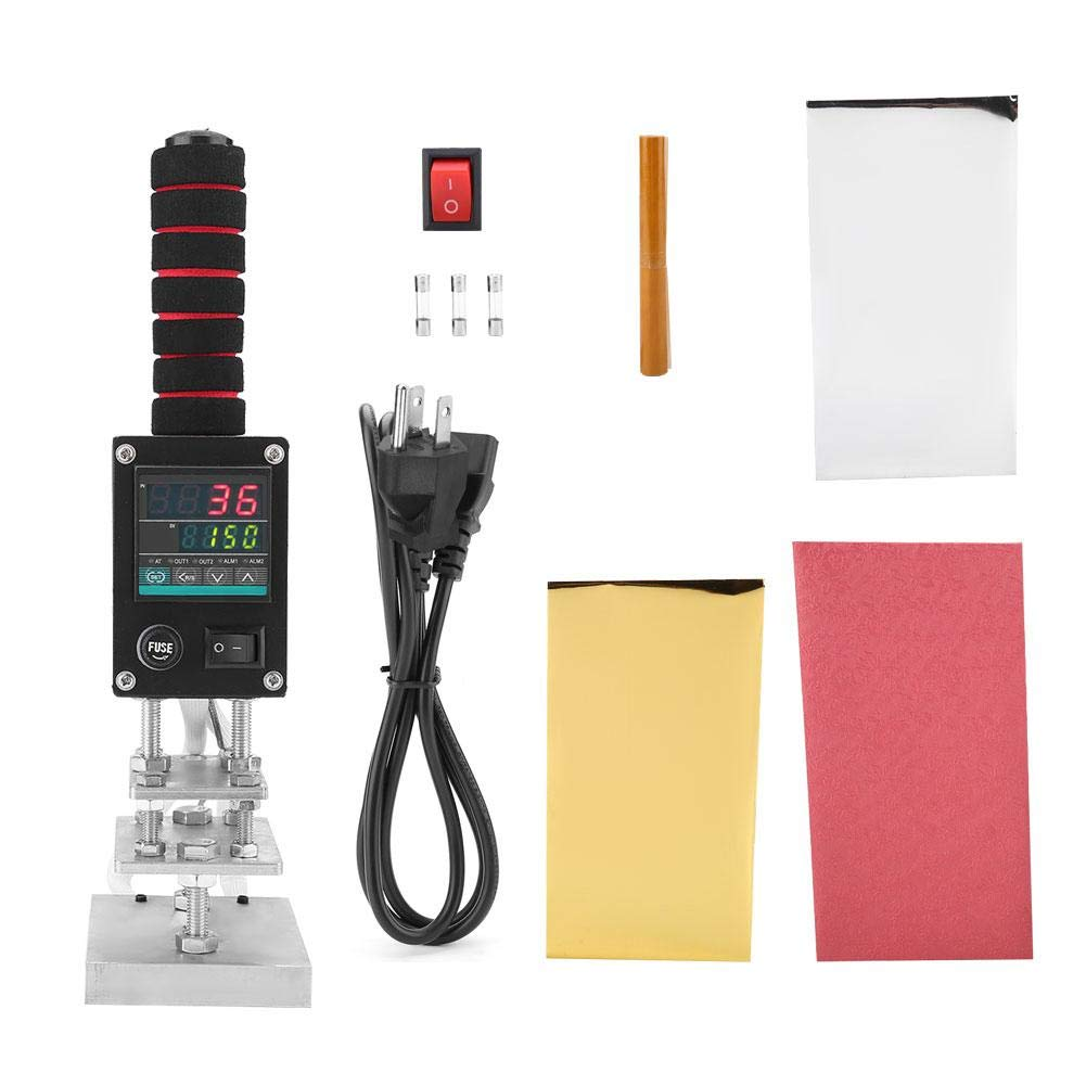 Qiterr Small Hand-held Hot Stamping Machine(US Plug) by Qiterr
