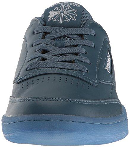 Reebok Hommes Club C 85 Glace Mode Sneaker Courageux Bleu / Blanc-glace