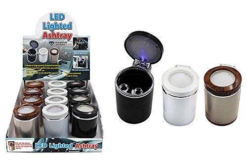 Led Lighted Ashtray - 5