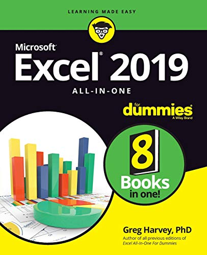 Excel 2019 All-in-One For Dummies (Best Advanced Management Program)