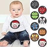 Baby's First Holidays Milestone Sticker Set - Baby Shower Gift Ideas - Set of 8