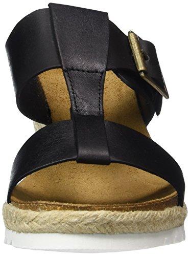 Vista 33-35303-sw - Mules Mujer Negro - Schwarz (schwarz/silber)