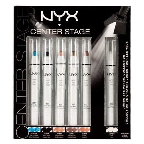 NYX Cosmetic - Limited Edition 6 Jumbo Pencil Collection Gif