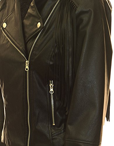 Miss-London-Ladies-Fringe-Moto-Jacket-Black-S