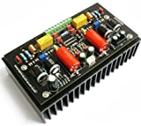 Lm4702 Sap15p/n Assembly 2x100w Class Ab Audio Power Amplifier Board W/heatsink