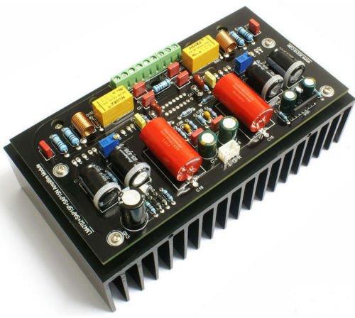 Lm4702 Sap15p/n Assembly 2x100w Class Ab Audio Power Amplifier Board W/heatsink by Electronics BoardJINGLUYAO