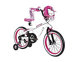 Dynacraft Hello Kitty Girls BMX Street Bike 18